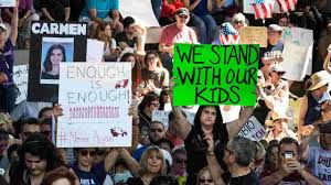 florida massacre survivors demand gun florida school shooting hundreds rally for stricter gun laws