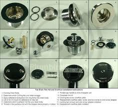 drain and overflow kit easy to install universal tub drain trim kits fits common tubs bathtub drain and overflow kit
