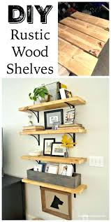 rustic shelf ideas chic rustic shelves to embed in your home decor hang a rustic shelving rustic shelf ideas rustic wall shelves