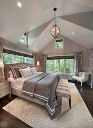 varying shades of gray in this master bedroom makes it feel elegant and soothing the paint color details are as follows walls farrow ball