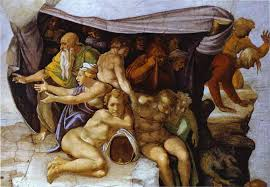 famous oil paintings by michelangelo