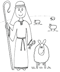Awesome The Lord Is My Shepherd Coloring Page For The Lord Is My