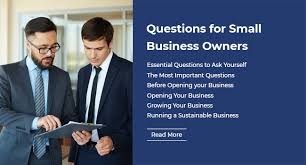Questions To Ask Business Owners Questions For Small Business Owners Best Templates