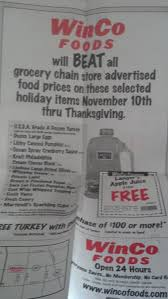 winco foods stepping up for thanksgiving freebies2deals grocery outlet ad