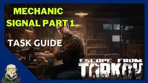 Signal part 1 - Mechanic