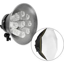 impact octacool 9 fluorescent light with octabox 9 lamps