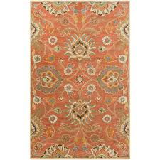 burnt orange rug. Birch Lane™ Phoebe Burnt Orange Hand-Woven Wool Area Rug \u0026 Reviews | Lane