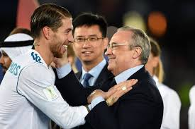Florentino Perez Says 'Sergio Ramos Legend Will Continue' After Record  Spain Cap | Bleacher Report | Latest News, Videos and Highlights