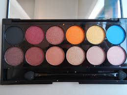 the shades in this palette do not have individual names which is disappointing but they are absolutely stunning shades and if you love warm eye shadows like