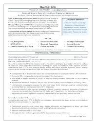 Resume For Cfo Sample Resume Example Resume Cfo Healthcare ...