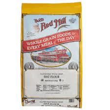 Green Mill Nutrition Chart Bobs Red Mill 25 Lb Gluten Free Whole Grain Oat Flour