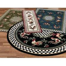 round kitchen rugs wonderful rooster kitchen mat with rugs french country ideas images round rooster kitchen