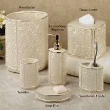 mercury glass bathroom accessories. Mercury Glass Bathroom Accessories Luxury Furla Cream Damask Ceramic Bath A