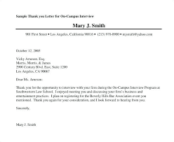 Thank You Letter After Second Interview Examples With Regard