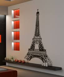 decor paris wall decal french decoration image of appealing paris wall decals