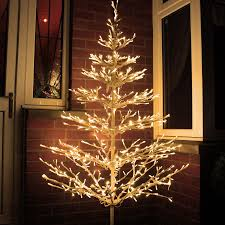 White Lighted Christmas Trees Outdoors Buy Christmas Lights Christmas Lighting From Led