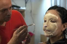 cat humanoid makeup