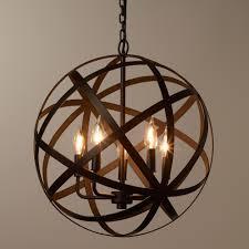 most recent orb chandelier regarding we re proud to present our exclusive metal orb chandelier