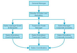 Small Hotel Organisational Chart Hotel Sales And Marketing Organization Chart