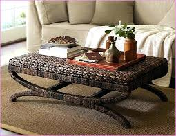 seagrass coffee table color trunk