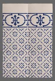 Blue And White Decorative Tiles French Provincial blue and white decorative wall tiles knows no 53