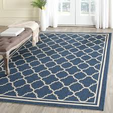 unlock indoor outdoor rugs woven warm stripes natural area rug 5 x 7 6 free
