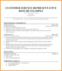 Customer Service Representative Resume Sample Magnificent Customer Service Representative Resume Sample New Download Free