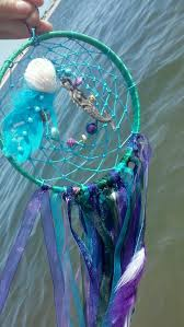 Diy Jellyfish Decorations Paradise Mermaid Decor Large Dream Catcher Purple Teal Dream