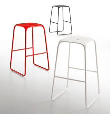 Stool With Footrest BOBO By Infiniti Design Fabrizio Batoni - Bobo kitchen