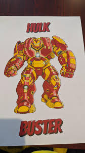 Hulk coloring page from hulk category. Hulk Buster Armour Coloring