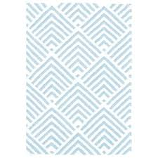 navy blue and white chevron area rug bunny graphic indoor outdoor