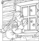 Картинки раскраска мороз иванович