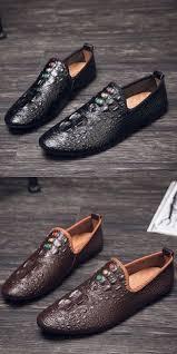 Prelesty Handsome <b>Men Shoes Formal</b> Slip On Sock Design ...