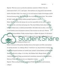 Example Of Essay Report Field Trip Interview Report Essay Example Topics And