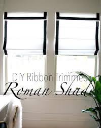 Roman Blind Diy Life Love Larson Look For Less Challenge Diy Ribbon Trimmed