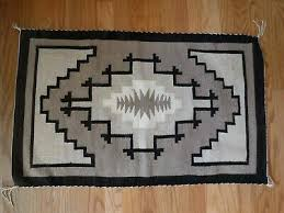 vintage navajo two grey hills rug