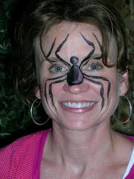 spider woman by painting outside the box face painting and murals