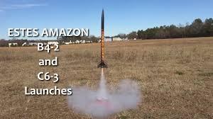 Estes Rocket Chart Estes Tandem X Amazon Rocket 2 Launches W Different Engine Sizes