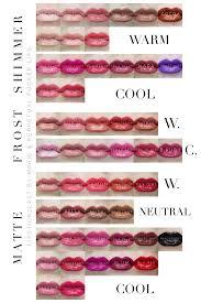 Lipsense Colors Chart Final 50 Lipsense Colors By Senegence Chart By Color Tone