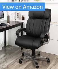 office leather chair. SONGMICS Big \u0026 Thick Office Chair Executive Review Office Leather Chair