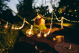 outdoor string light patio bulds wire hanging yard string lights outdoor
