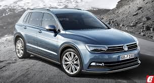 new car 2016 suvFuture Cars VW Sends AllNew 2016 Tiguan SUV To The Gym