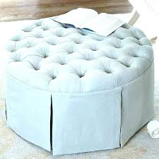 light blue ottoman. Mesmerizing Blue Round Ottoman Light Ottomans Lovely Latest Upholstered Images . L