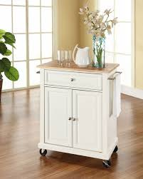 Crosley Furniture Kitchen Island Kitchen Room 2017 Crosley Furniture Natural Wood Top Portable