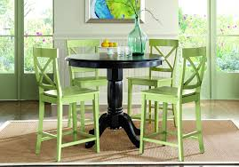 Brynwood Black 5 Pc Counter Height Dining Set - Room Sets