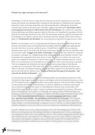 essay on the holocaust co essay on the holocaust