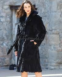 florence rabbit fur coat