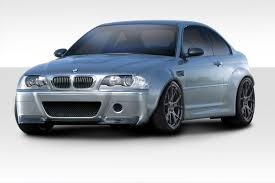 Sport Series 2006 bmw m3 : 112993 | BMW M3 E46 Duraflex Circuit MM Fender Flares Kit 4-Piece ...