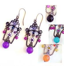 ar701 jpg 120003 bytes item ar701 designed with swarovski crystal beaded chandelier earrings