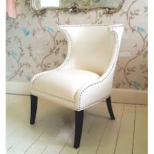 Small White Chair For Bedroom Personable Model Apartment New At